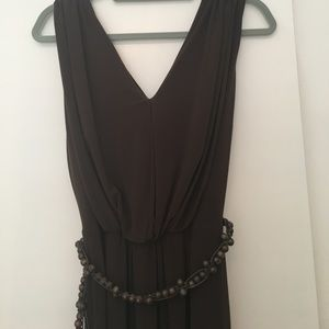 Jones New York dress with beaded belt. Size 4.