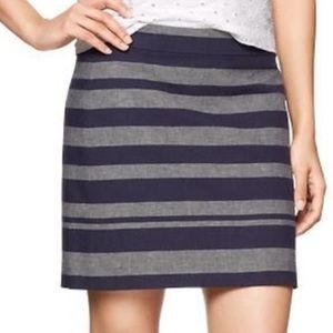 gap | striped chambray mini.