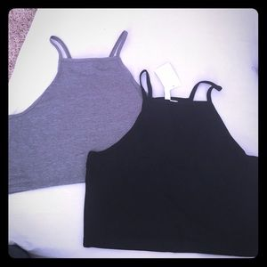 Brand new 2 pack of crop tops