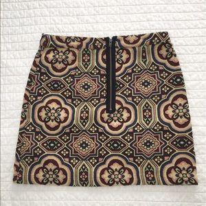 Topshop Retro Carpet Skirt
