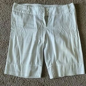 Pants - White capri pants