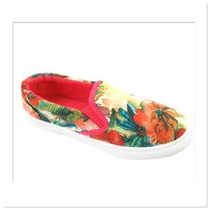 Coral Cay Floral Sneakers