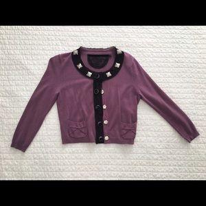 Fabulous Purple Sweater by F21