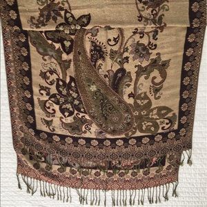Accessories - Brown Pashmina