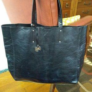 Fiore Italian Leather Tote Bag