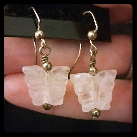 Jewelry - *Crystal Butterfly Earrings*