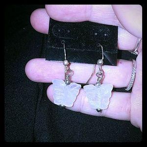 Jewelry - *Crystal Butterfly Earrings*