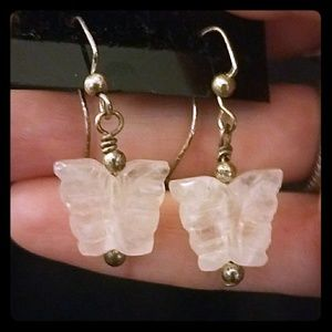 ❤*Crystal Butterfly Earrings*❤
