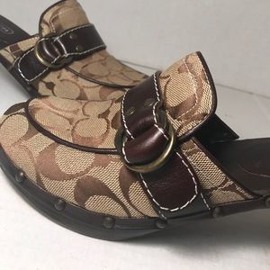 Coach Raina Signature Clogs