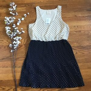Urban outfitters pins and needles polka dot dress