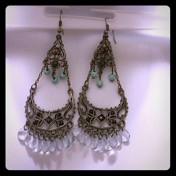 Jewelry - 🛍❤*Stunning Boho Chandelier Earrings*❤PRICE DROP