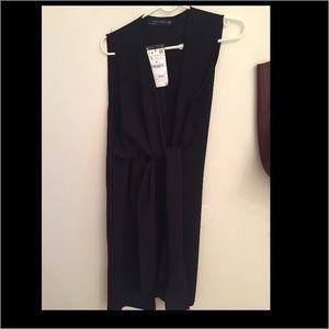 Zara Jackets & Coats - Zara Woman Black Vest