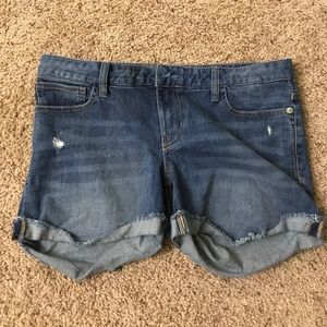 Woman's jeans shorts by express