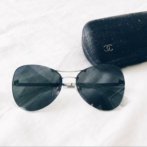c32de31b56e CHANEL Accessories - Chanel Runway Airline Shield Sunglasses