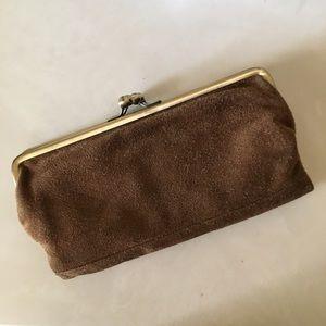 Handbags - Suede multi function clutch/wallet