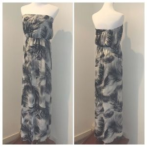 H&M strapless maxi dress 8