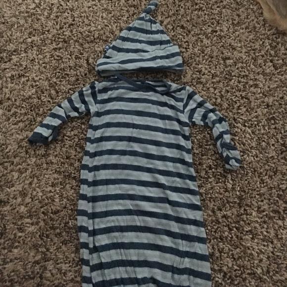 76% off Kickee Pants Pajamas Gown Matching Hat | Poshmark