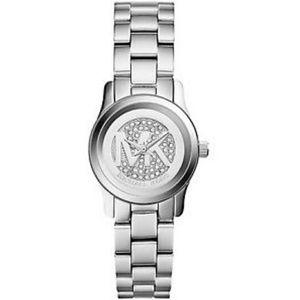 Pave Crystal MK Watch