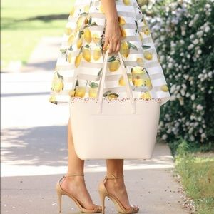 Dresses & Skirts - Lemon Striped Organza Skirt