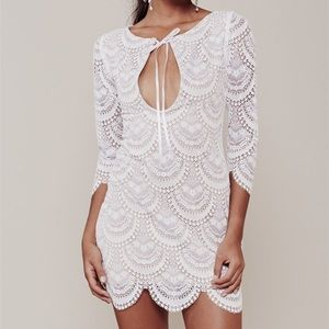 For Love and Lemons Rosalita mini dress