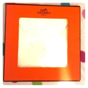 Hermes authentic display scarf box