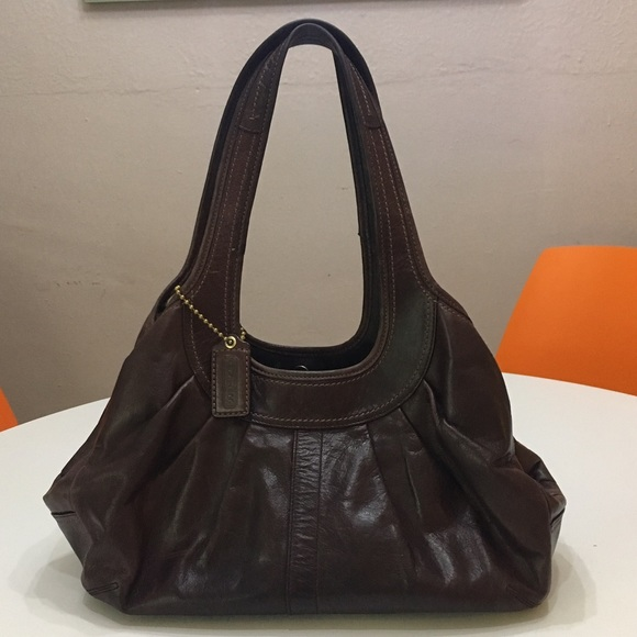 be77af0fd Coach Bags | Ergo Pleated Tattersall Bag | Poshmark
