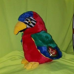 💕 JABBER Beanie Buddy parrot 💕 for sale