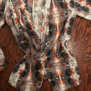 Lush brand open tunic cardigan