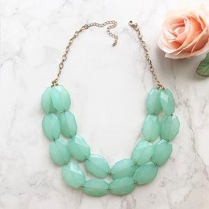 Jewelry - Handmade Mint Necklace!