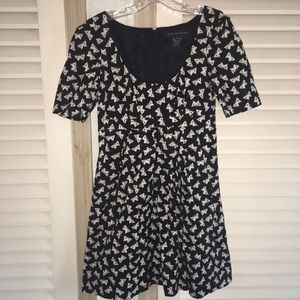 French connection butterfly dress