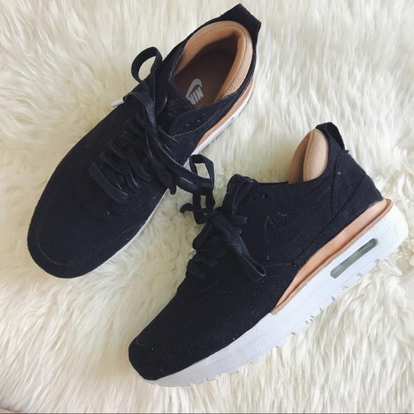 NikeLab Air Max 1 Royal Black Suede Sneakers NWT