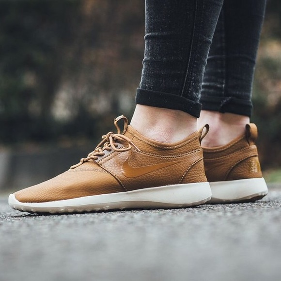 Nike Camel Tan Juvenate Premium Sneakers