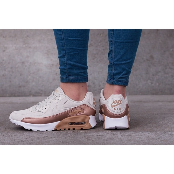 8ab3058b94 Nike Air Max 90 Ultra SE Nude + Copper Sneakers