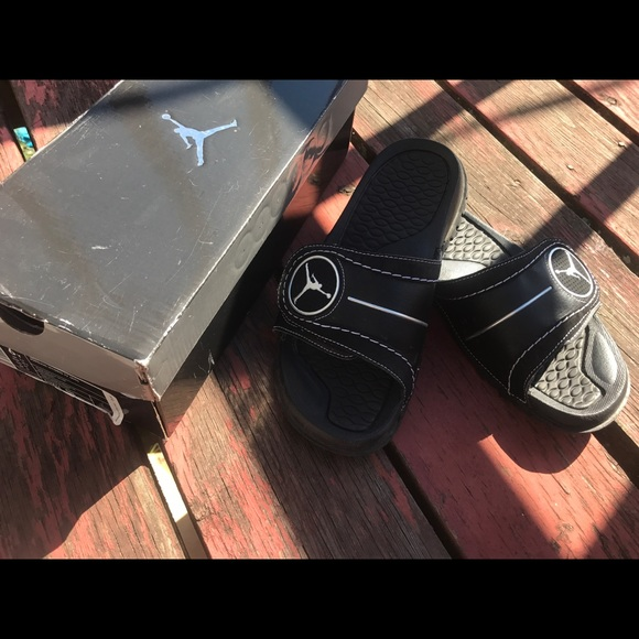 0fd93a745065a Air Jordan Shoes - Big Kid (6Y) Jordan Basketball Slippers