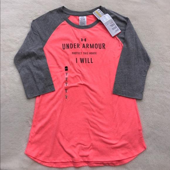 Under armour nwt under armour half sleeve shirt from for Under armour half sleeve shirt