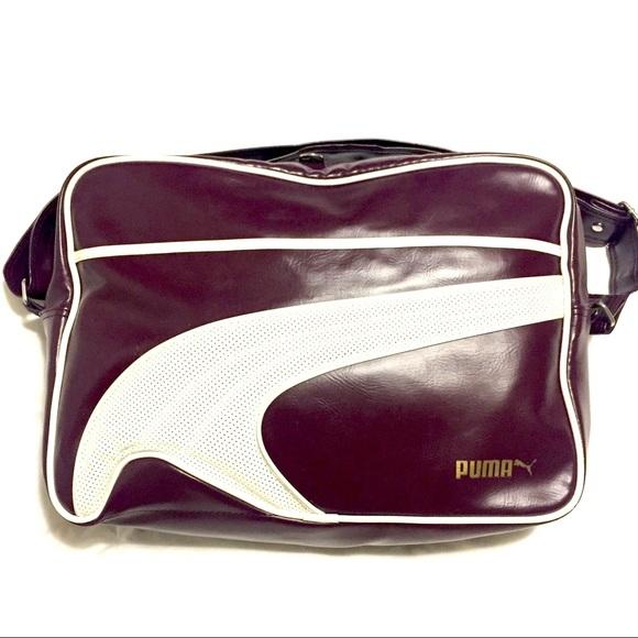 9a9939507bb7 Puma Heritage Bag - Burgundy. M 5979fb672fd0b7e862019b9b