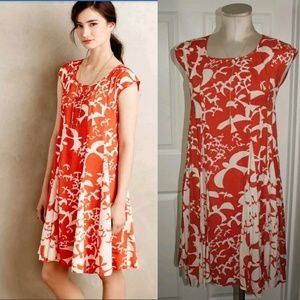 2de93ae44179 Anthropologie Dresses - ANTHROPOLOGIE Maeve Indiga Swing Dress Lace-Up XS