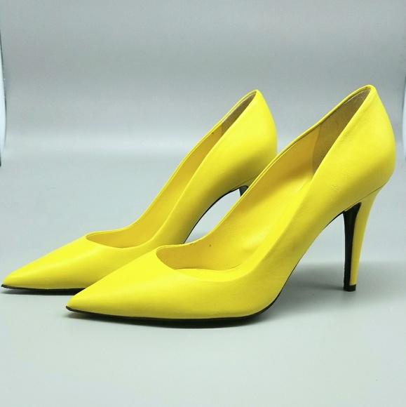 Lemon Yellow Heels