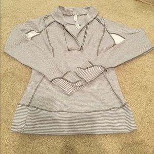 Lululemon 1/2 Zip Gray Pullover
