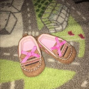 Other - Baby Girl Moccasin Style Slippers