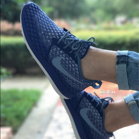 Nike Roshe Two Mens Game Blue/White