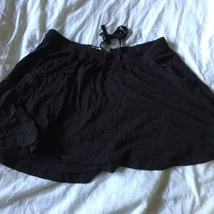 Aerie black flowy skirt/cover up