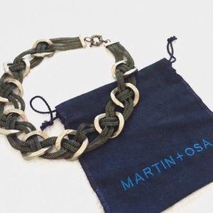 martin + osa | gold necklace.