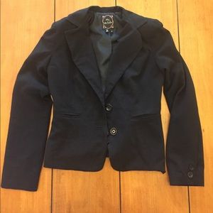 Black suit jacket size small
