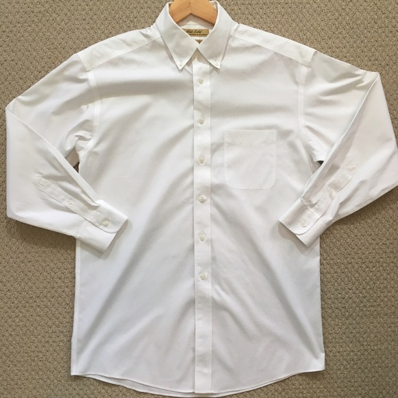 71 off roundtree yorke other euc white non iron for White non iron dress shirts