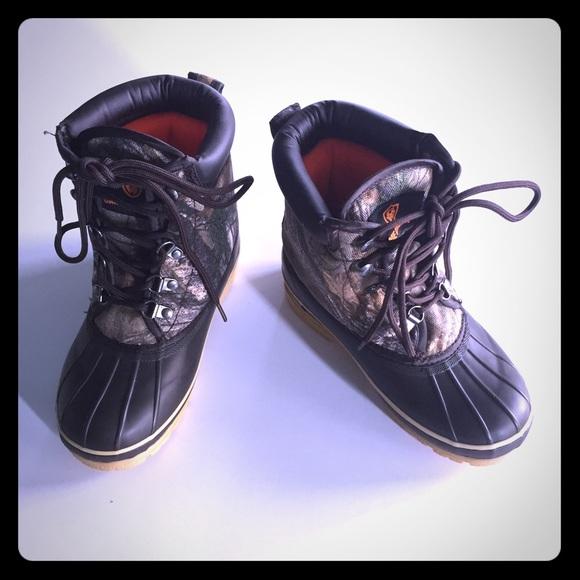 fce4f7da1b9 Magellan Boys Camouflage Duck Boots