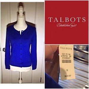 NWT Talbots size small cardigan