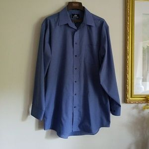 Other - Stafford men's blue shirt in great condition