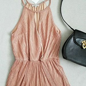 NWT Charlotte Russe High Neck A-Line Dress