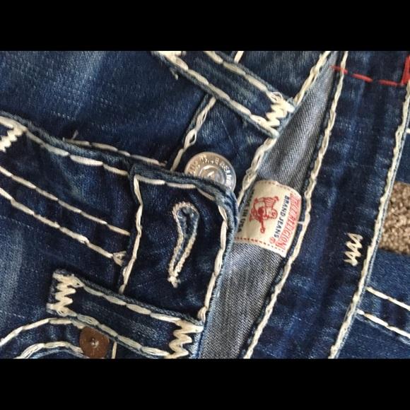 57364c229 Gray True Religion Skinny Jeans Us 9.5 Denim Cropped Jeans